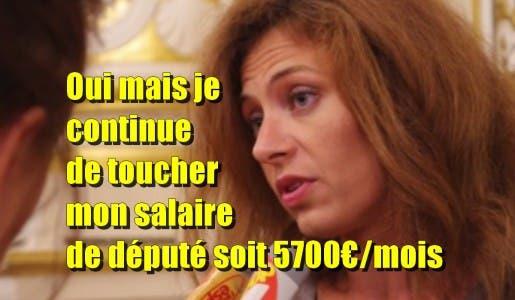 Une députée En Marche absente depuis son élection il y a 3 mois, elle continue de toucher ses 5700€/mois de salaire de député