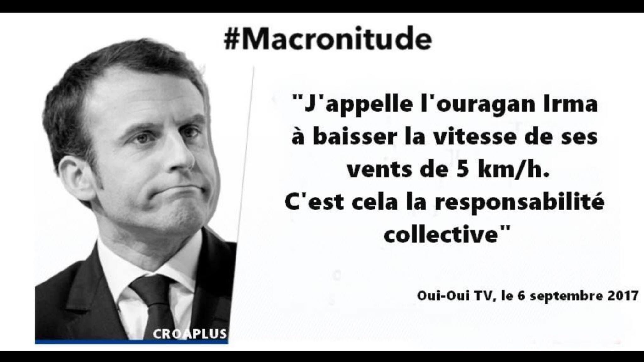 macron attitude