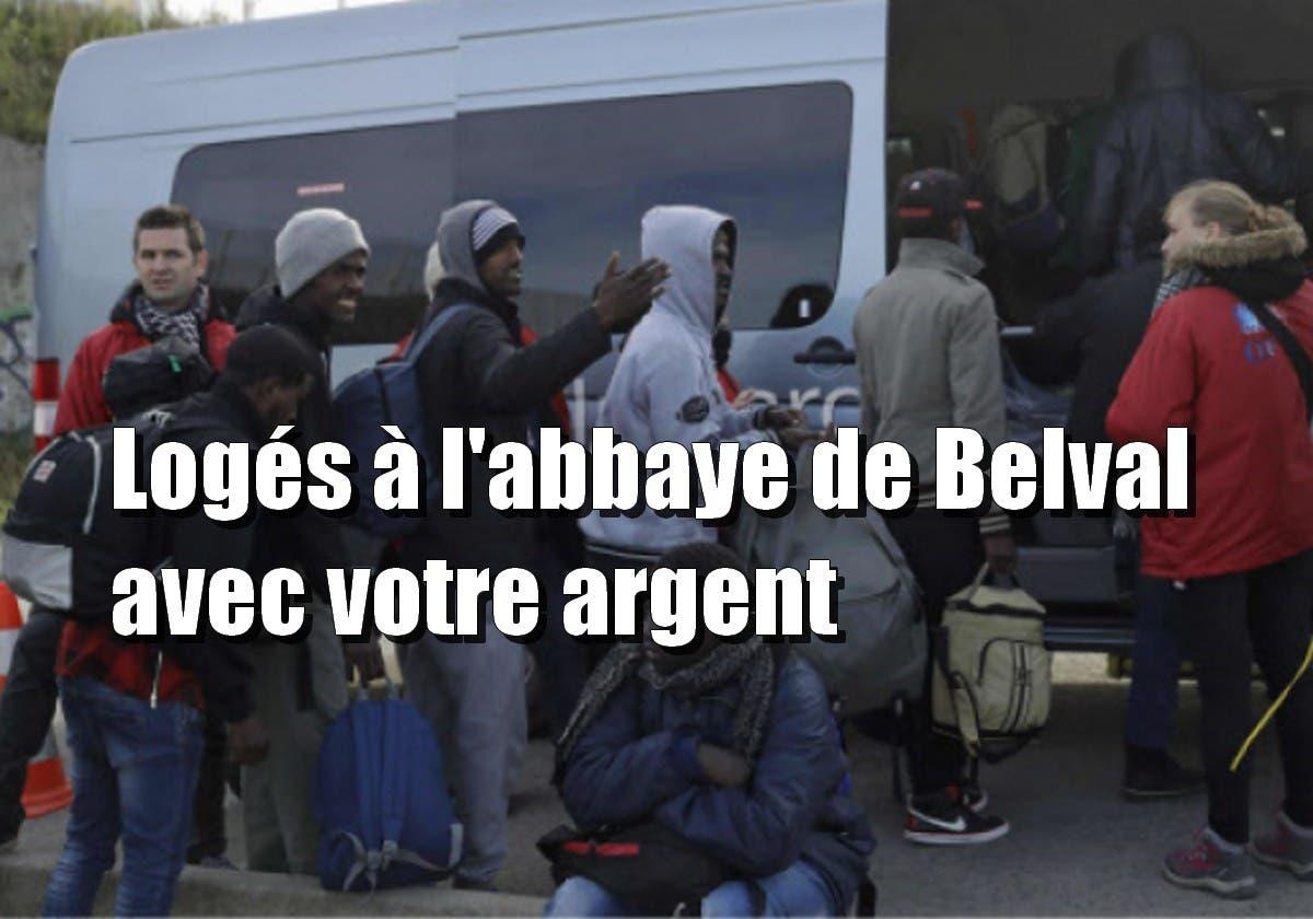 migrants abbaye