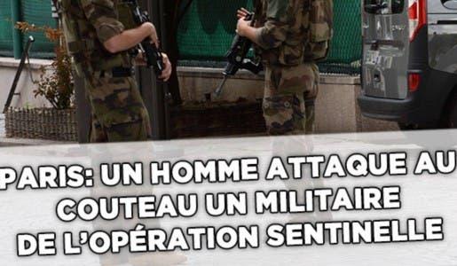 Le suspect qui a agressé au couteau le militaire à Châtelet était naturalisé Français en avril dernier