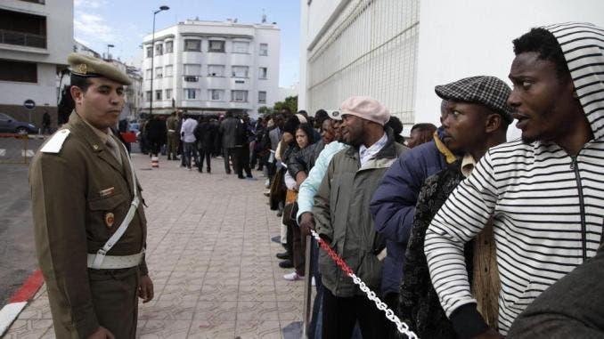 algérie migrants