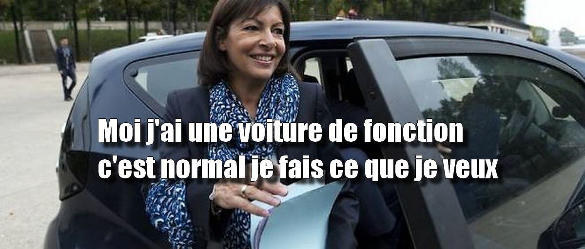le maire de paris exige des parisiens qu ils abandonnent leur voiture pourtant anne hidalgo. Black Bedroom Furniture Sets. Home Design Ideas