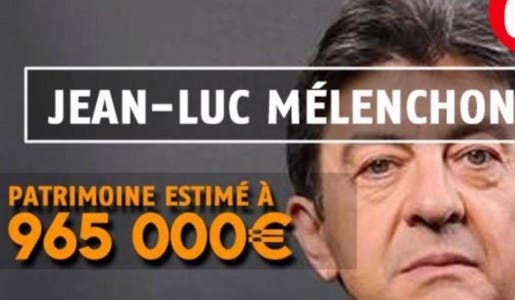 Mélenchon a fait fortune grâce à 30 ans de politique mais il ne faut surtout pas lui dire