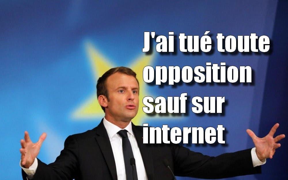 macron opposition