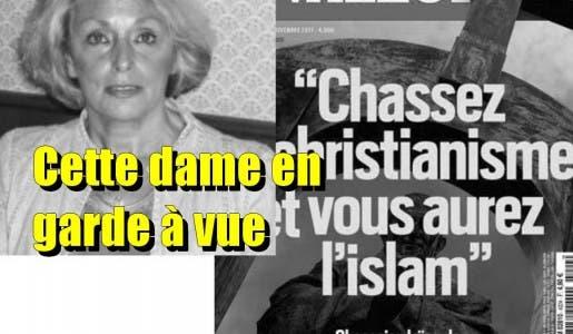 Quimper : Claudine Dupont 70 ans, en garde à vue pour avoir brandi la Une de Valeurs actuelles lors des commémorations du 11 novembre