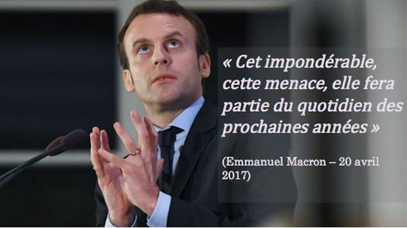 Macron-imponderable