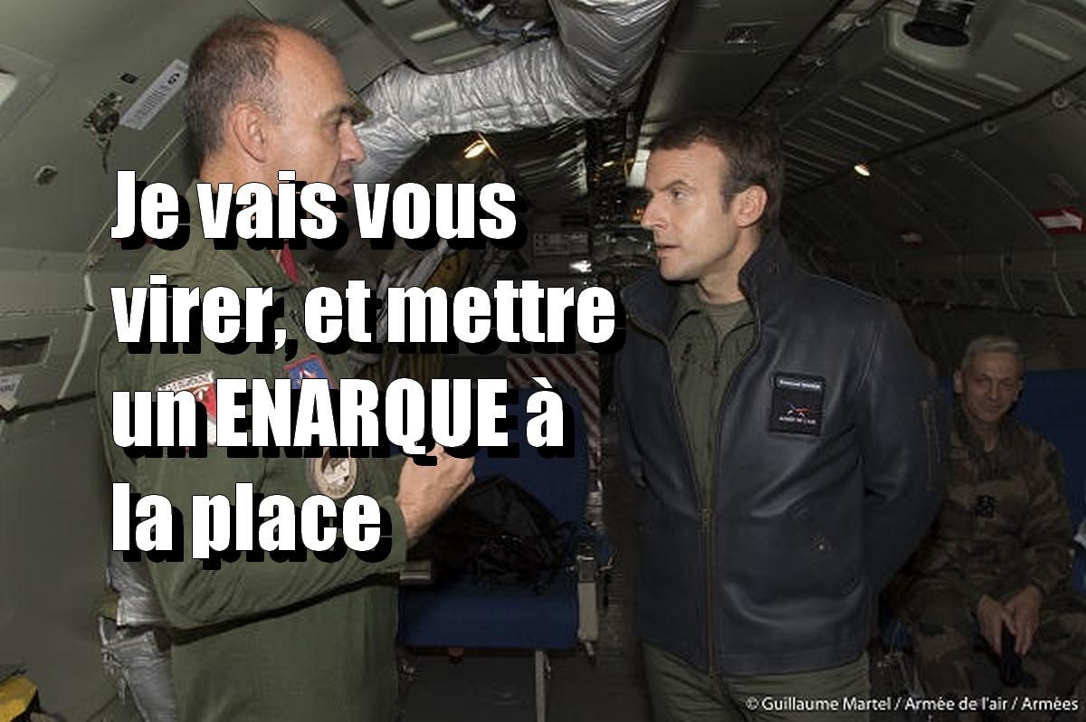 macron militaires