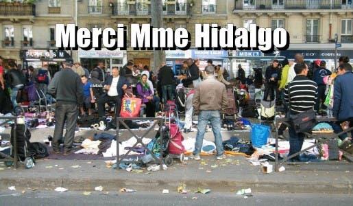 Voilà ce qu'est devenu le nouveau Paris forgé par Mme Anne Hidalgo