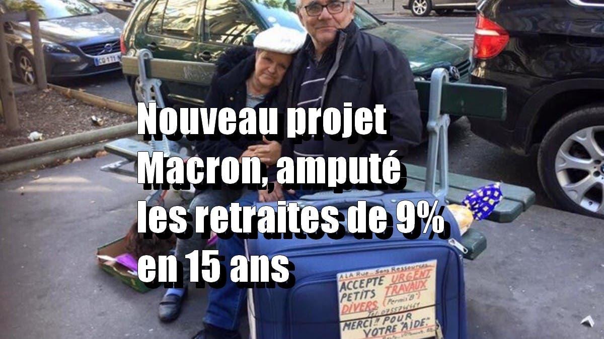 retraités pauvre