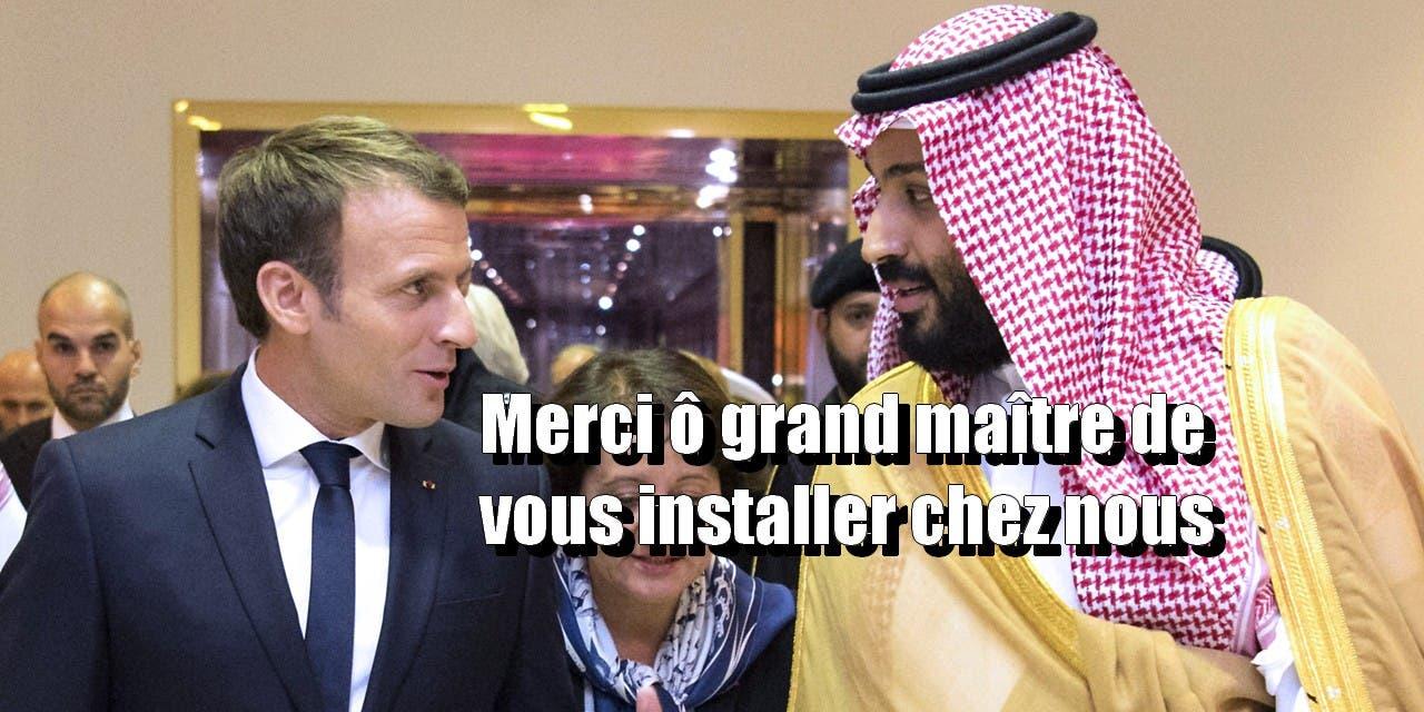 SAUDI-FRANCE-POLITICS-DIPLOMACY