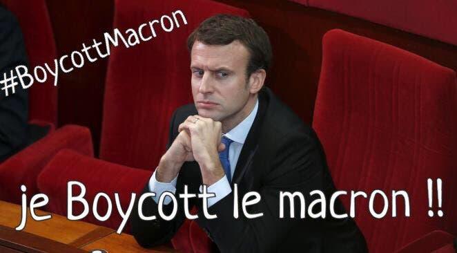 boycott macron