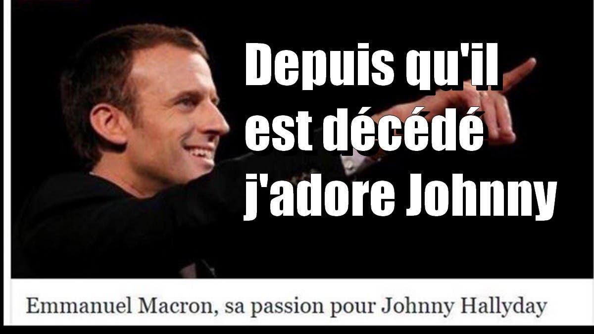 johnny macron
