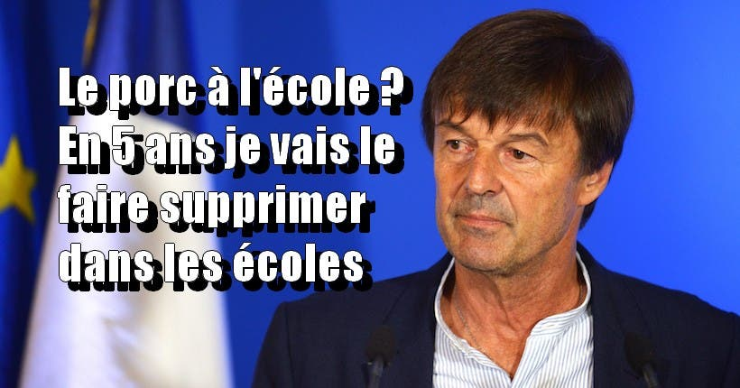 French Minister of Ecological and Inclusive Transition, Nicolas Hulot Gives A Press Conference