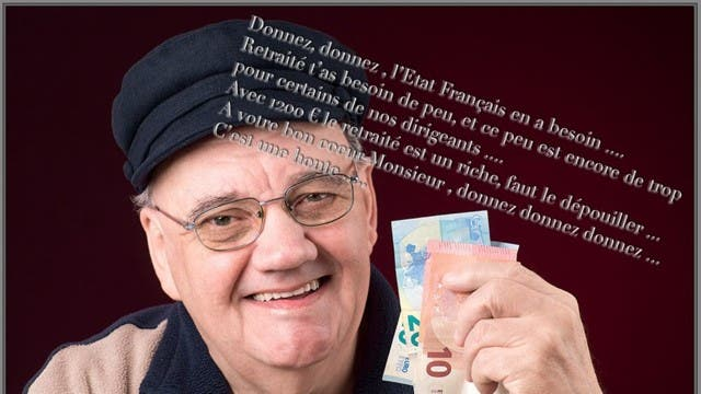 retraités 2€50