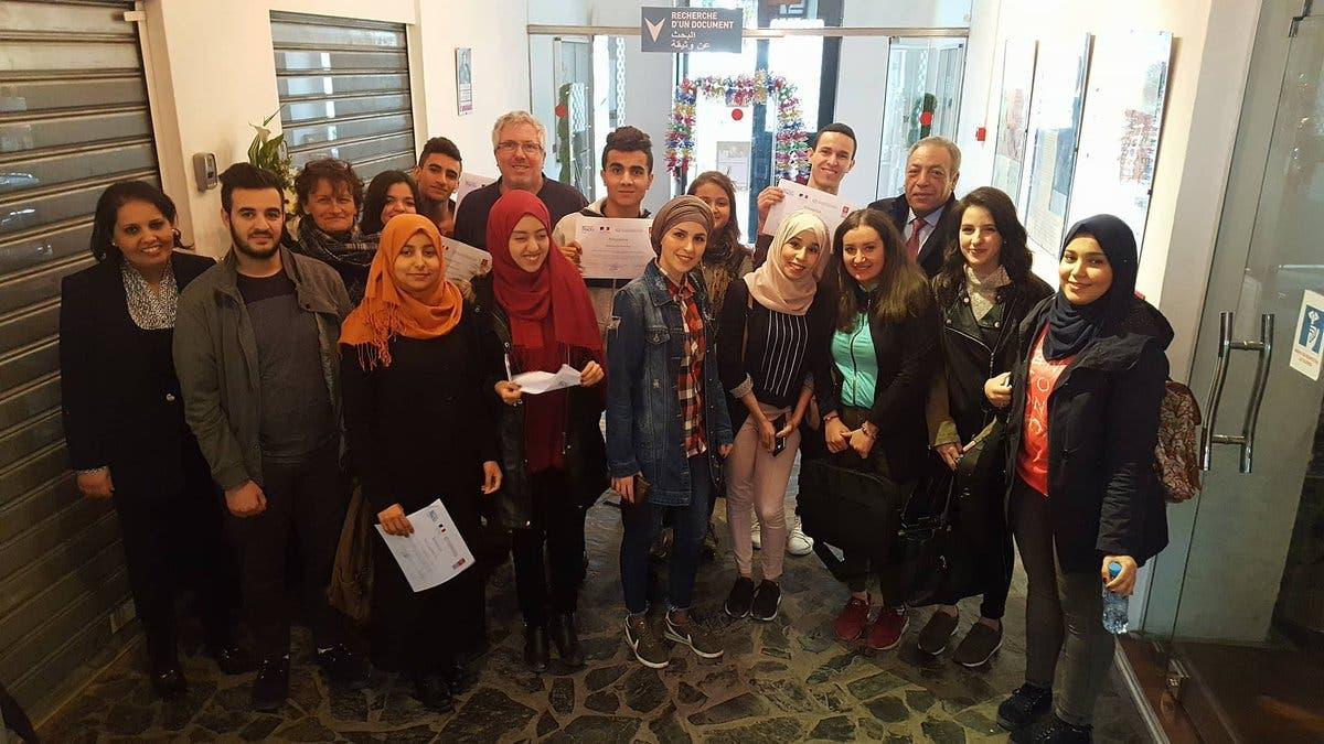 étudiants algériens