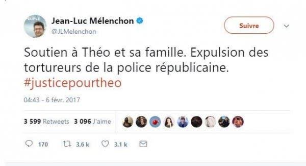 mélenchon theo