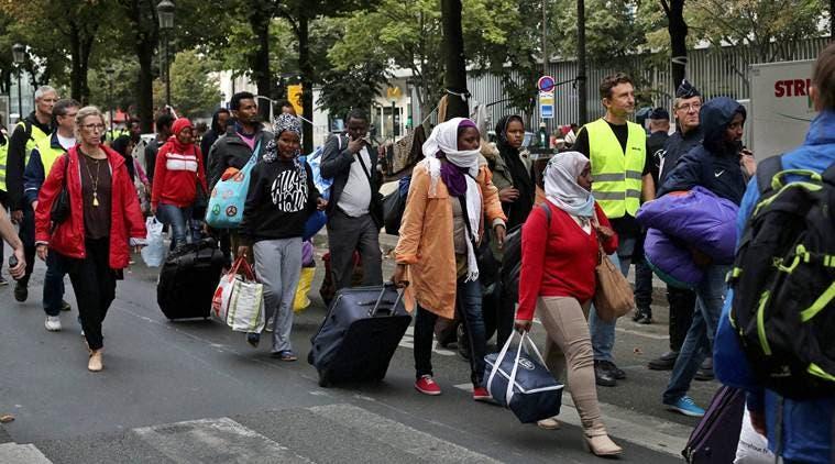 migrants paris2