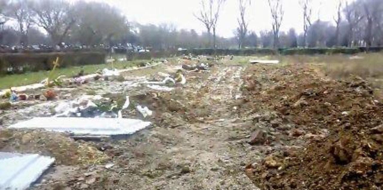 carré indigents cimetière parisien de Pantin