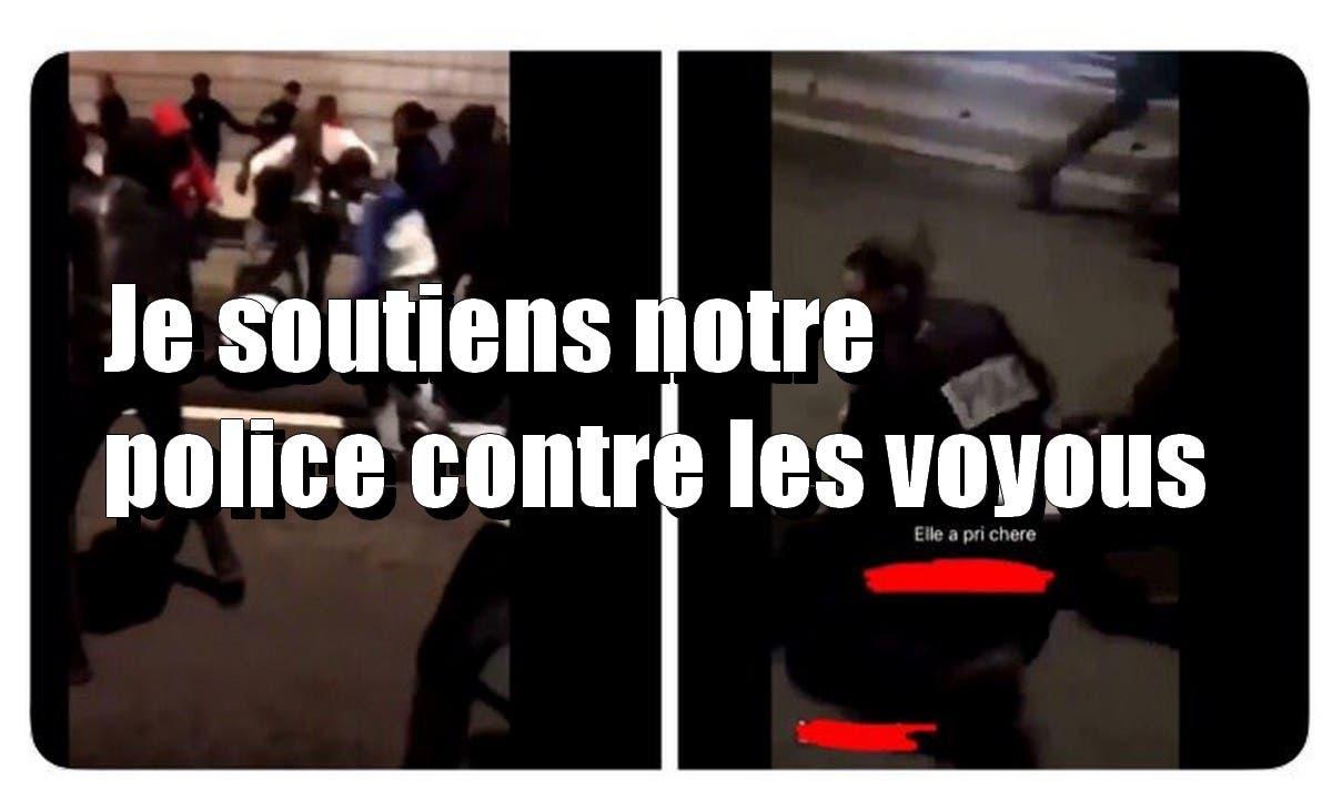 policiers blessés