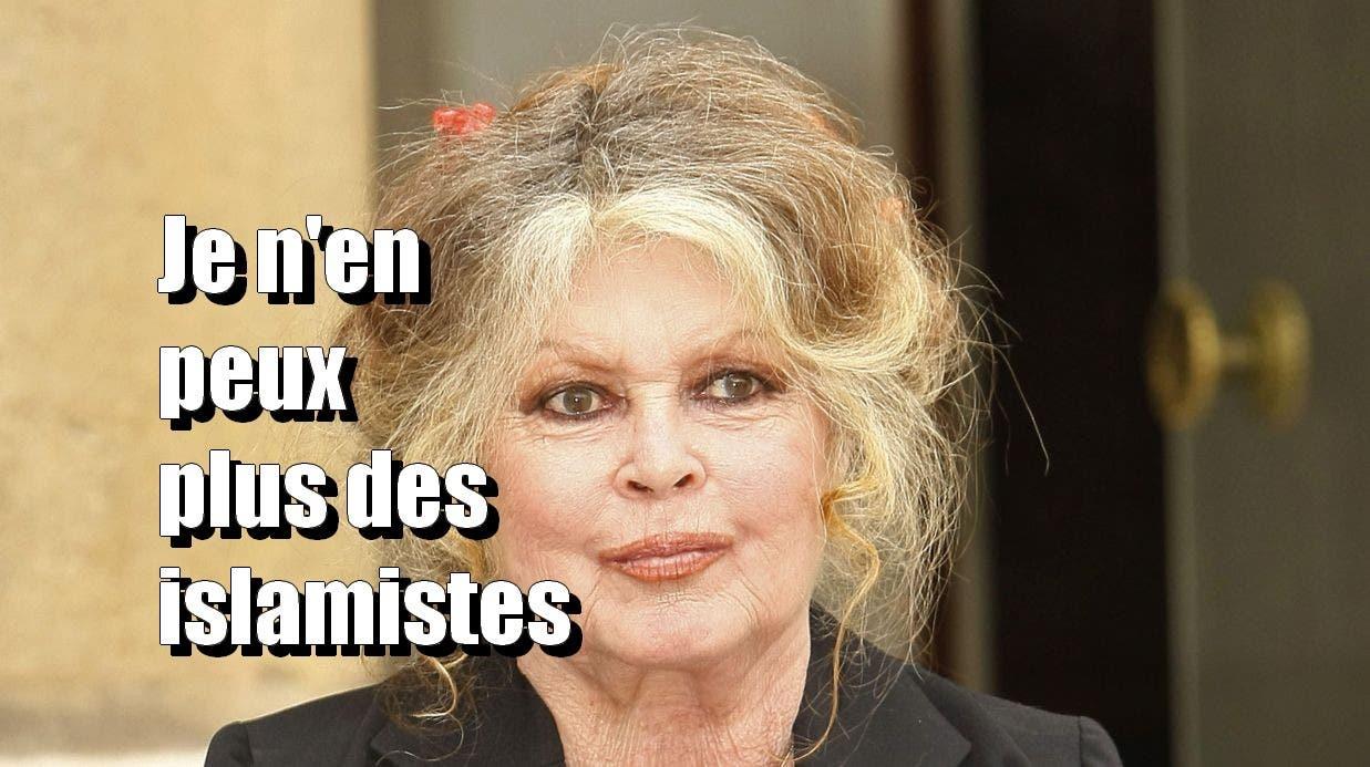 Brigitte Bardot : « Que pratiquement partout en France on voie des burqas, c'est inadmissible. »