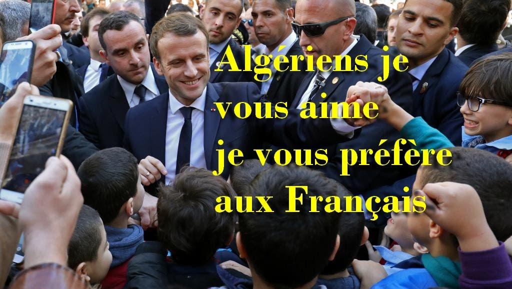 macron algérie