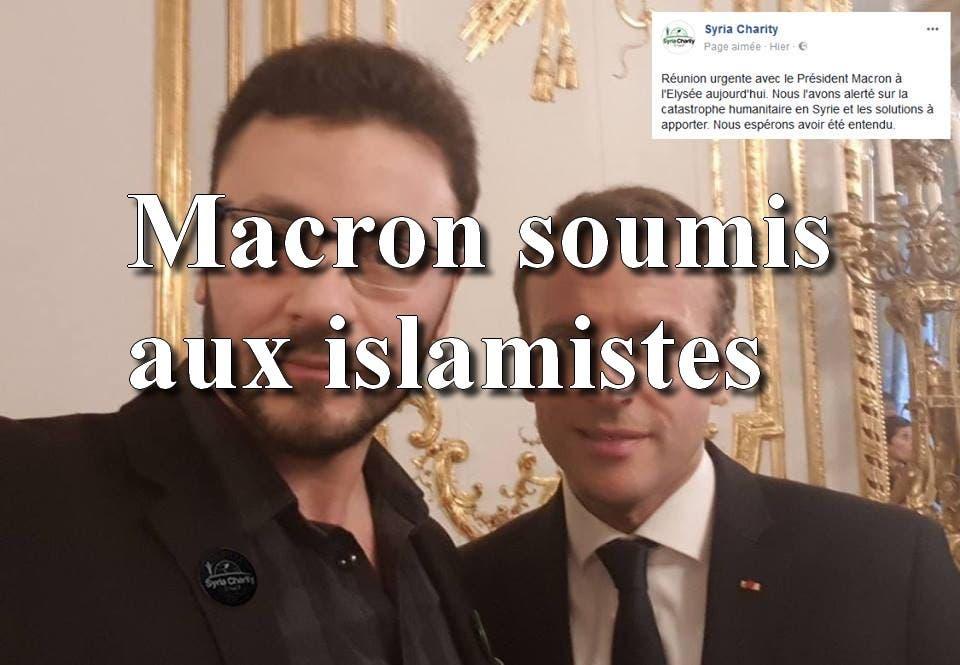 macron syria