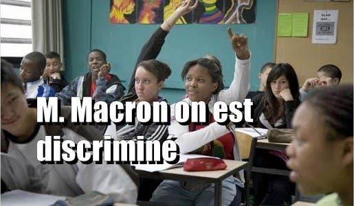 Etes-vous choqué que Macron inscrive dans la loi des nouveaux tests anti-discrimination en entreprise ?