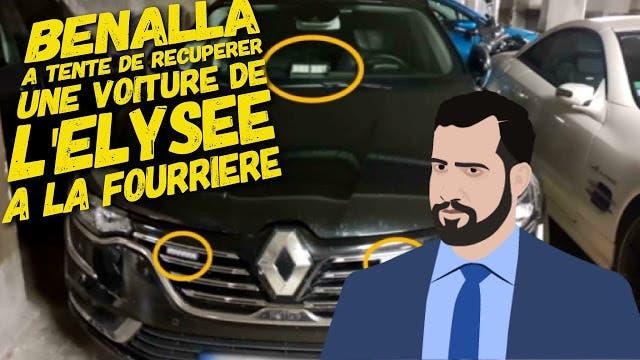 blog -Benalla tenta recuperation Renault Talisman estate a la fourriere-juill2018