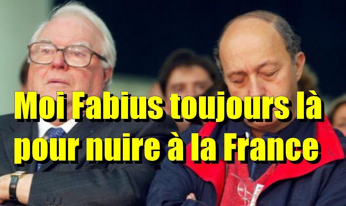 blog -Fabius endormi au cote de Mauroy