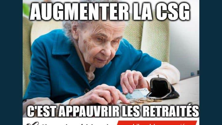 """Résultat de recherche d'images pour """"image des retraités contre macron"""""""