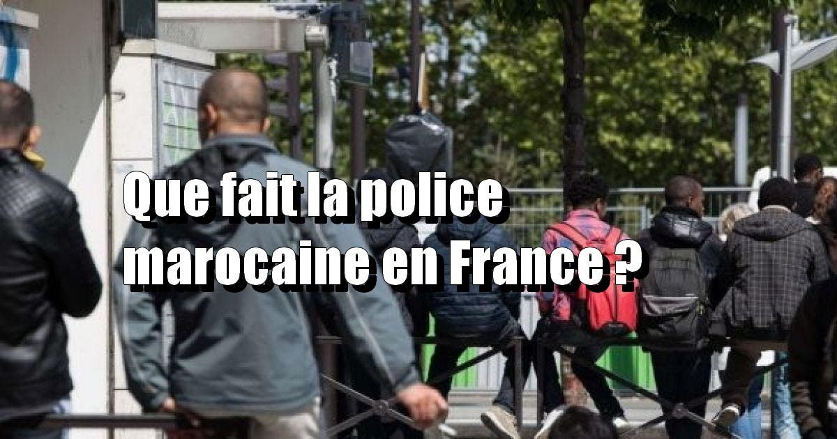 police marocaine