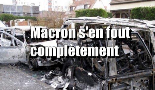 14 juillet 2018 : 845 voitures brûlées, mais c'est pas grave la France est championne du monde