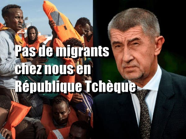 Le 1er ministre Tchèque : « Je veux pas de migrants, ils veulent pas travailler et viennent que pour les aides »
