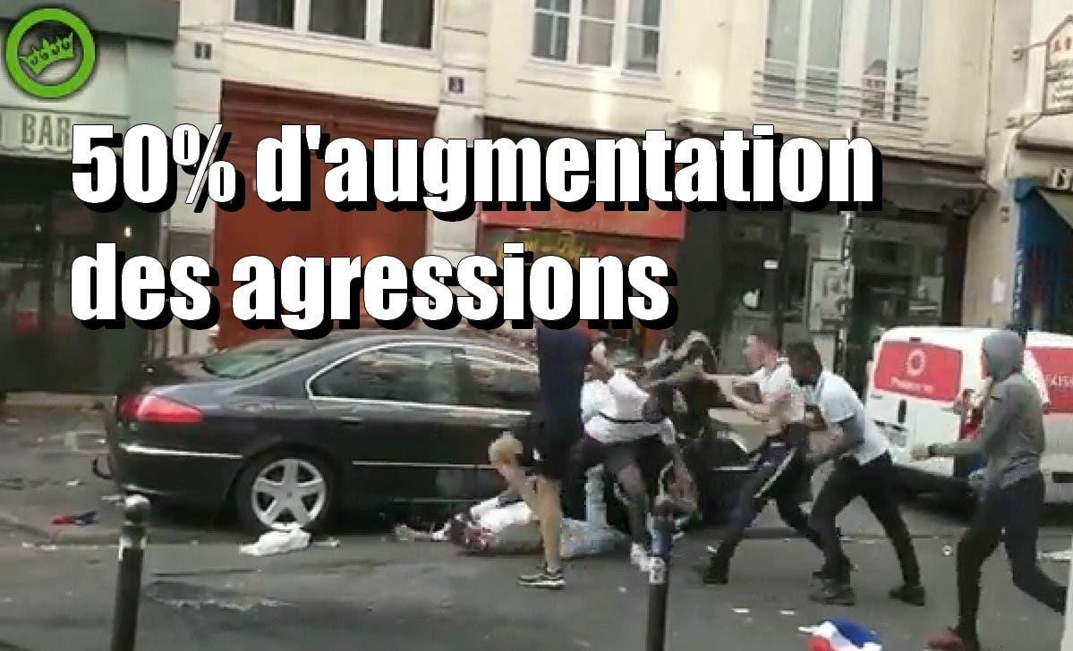 agression paris