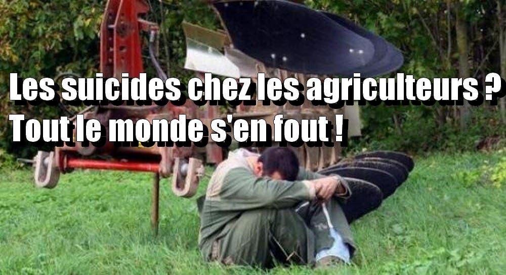 agriculteurs suicie