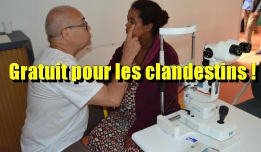 Ivry (94) : examen ophtalmologique et lunettes offerts pour des centaines d'immigrés clandestins