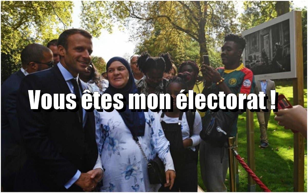 macron électorat