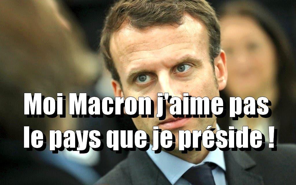 macron déteste la France