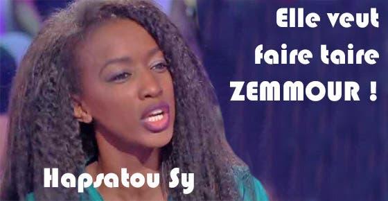 hapsatou-sy-veut-faire-taire-zemmour
