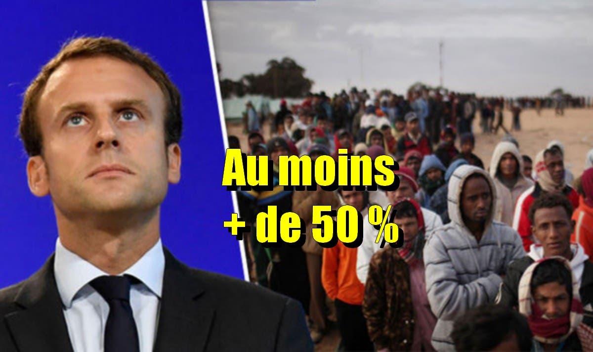 migrants macron