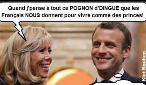 Le directeur de cabinet à l'Elysée de Brigitte Macron touche 278 000€ par an !