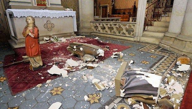 actes anti chrétiens