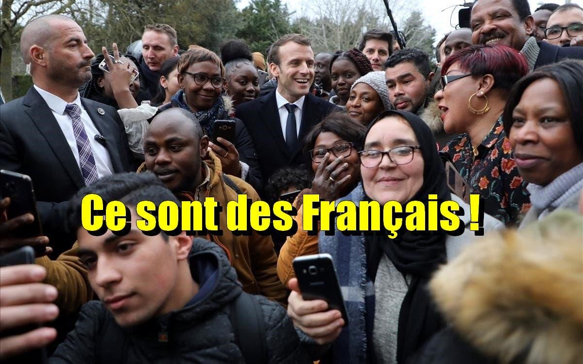 macron banlieue française