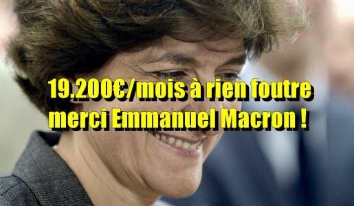 L'ex-ministre des Armées de Macron, Sylvie Goulard, a été nommée à la Banque de France à 19.200€/mois