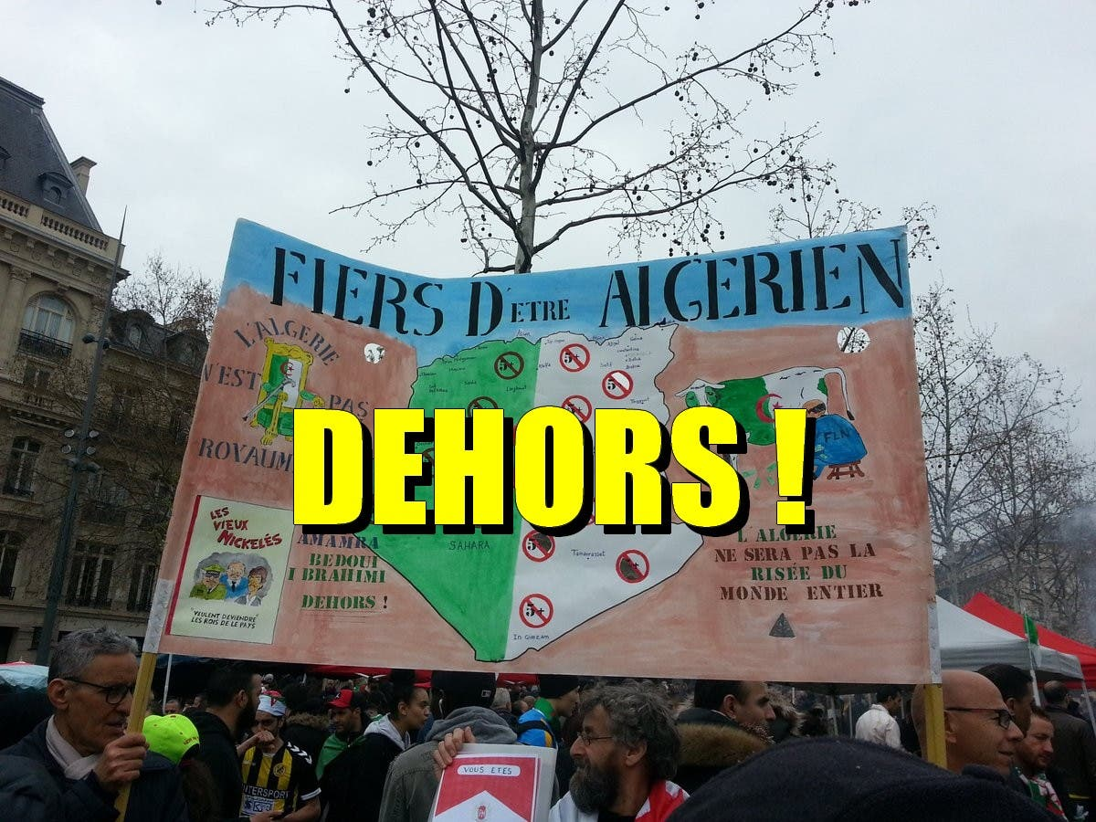 fiers d'être algérien