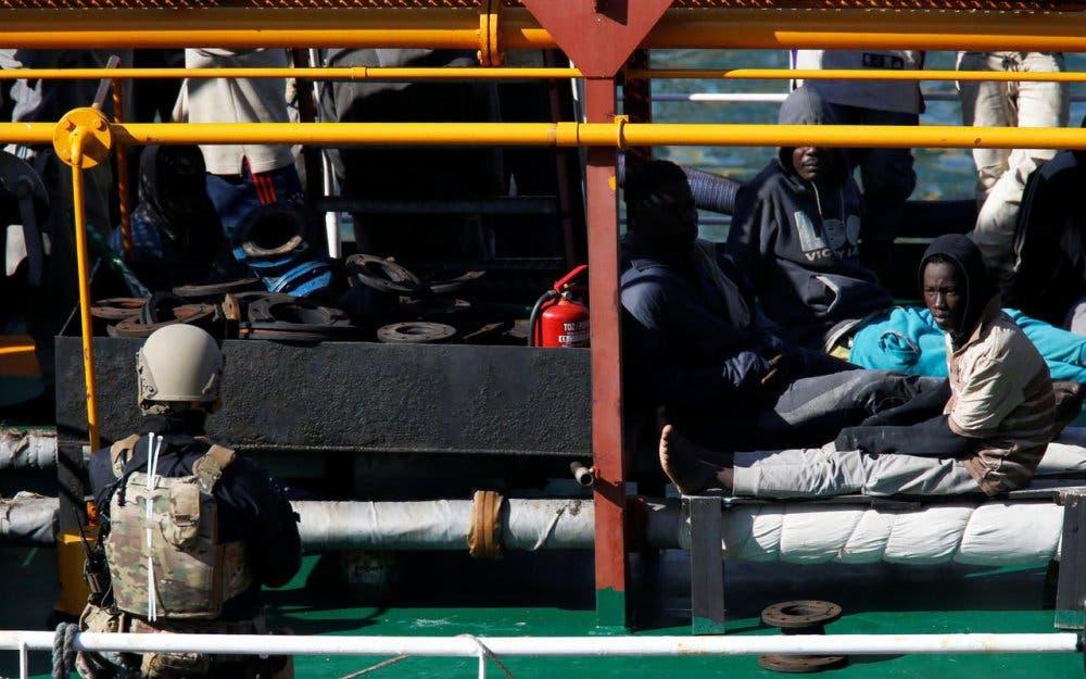migrants pétrole