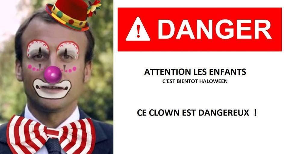 clown dangereux