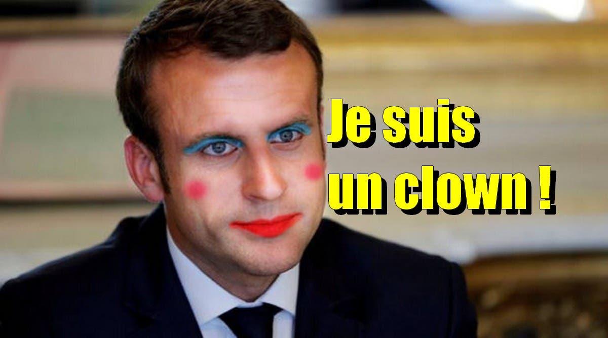 clown macron