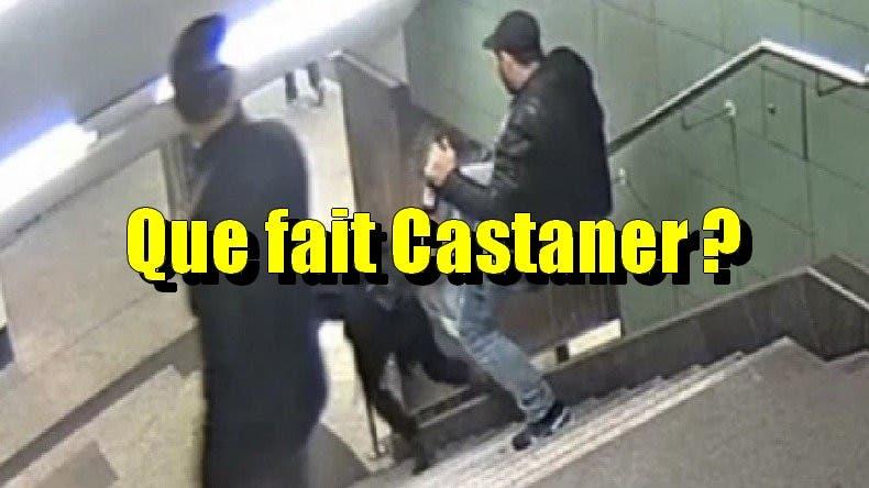métro agression