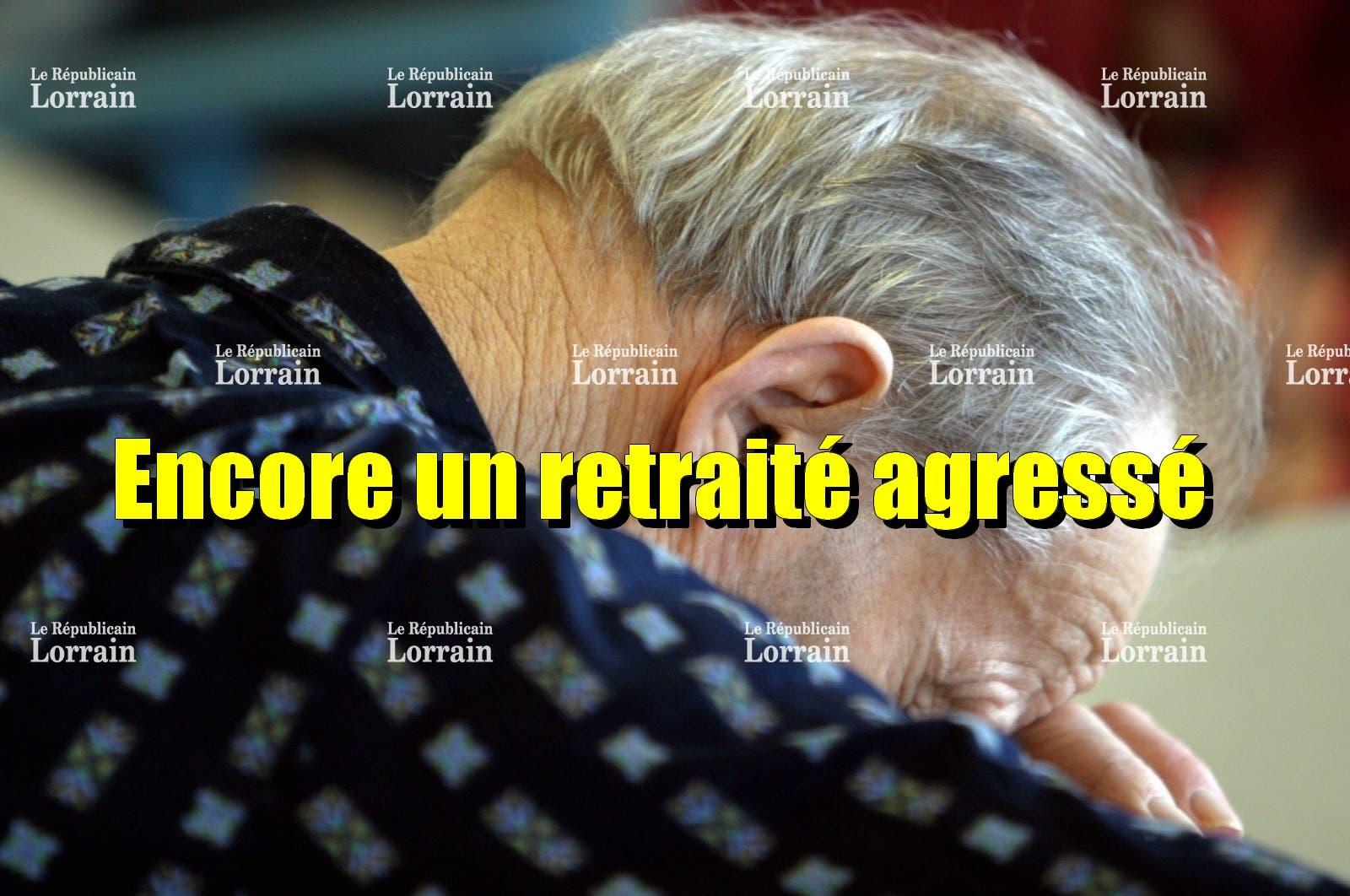 retraité agressé